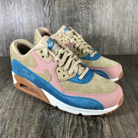 a37fa5bc4d02 Air Max 90 LX  Embossed Pony Fur  Women s Size 8